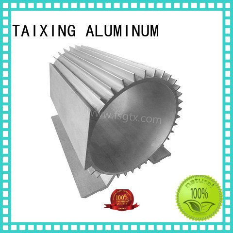 aluminum radiators with electric fans alloy shell TAIXING ALUMINUM Brand company