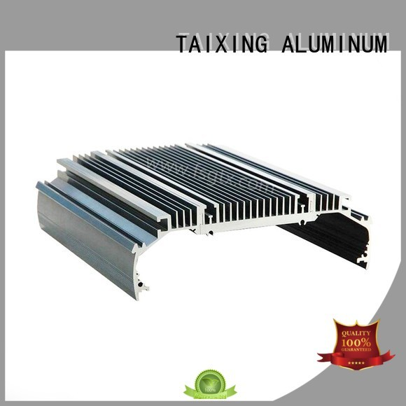 customized shell designs TAIXING ALUMINUM Brand aluminum radiators