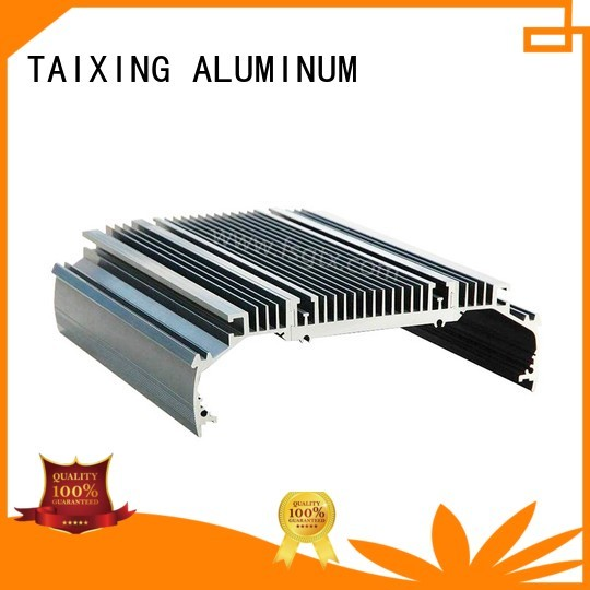 Quality TAIXING ALUMINUM Brand aluminum radiators with electric fans designs