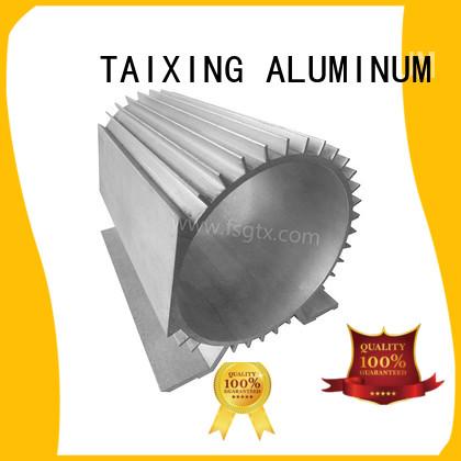 shell radiator customized aluminum radiators with electric fans TAIXING ALUMINUM manufacture
