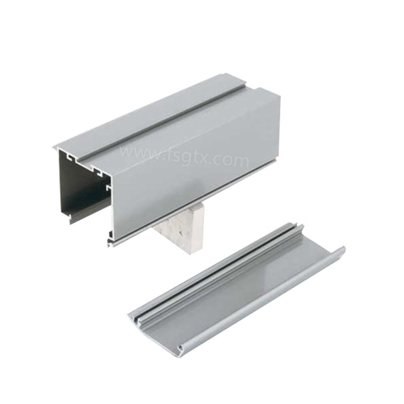 Three-sided advertising aluminum profiles