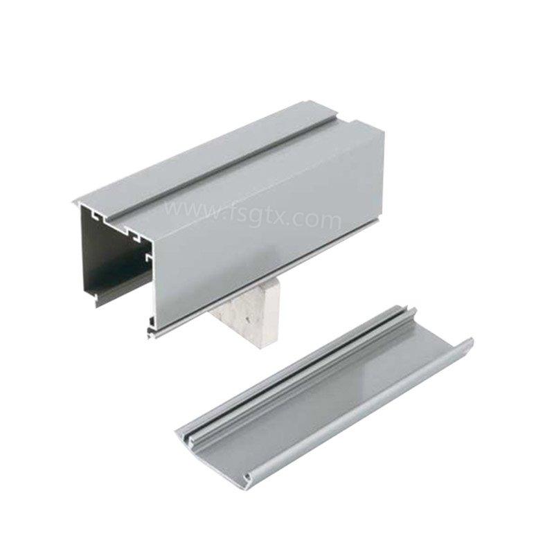 threesided led indoor aluminium profile system TAIXING ALUMINUM manufacture