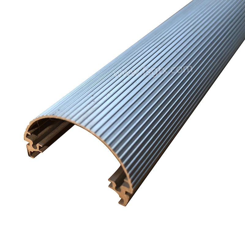 New product material 6063 tube radiator aluminum alloy profile