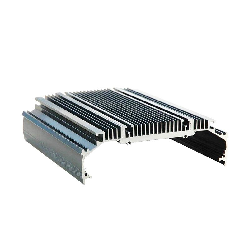Customized designs material 6063 power radiator aluminum alloy profile