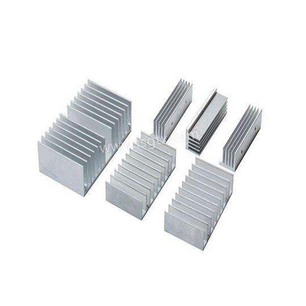 Customized designs material 6063 power radiator aluminum alloy profile