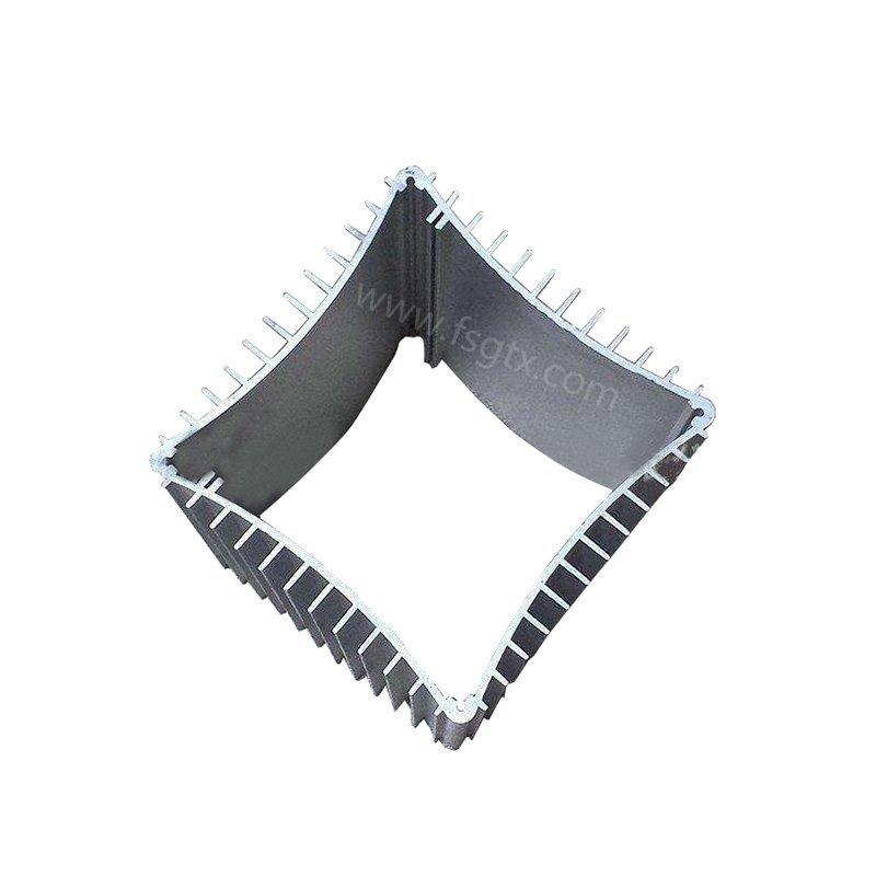 designs profile product tube aluminum radiators with electric fans TAIXING ALUMINUM Brand