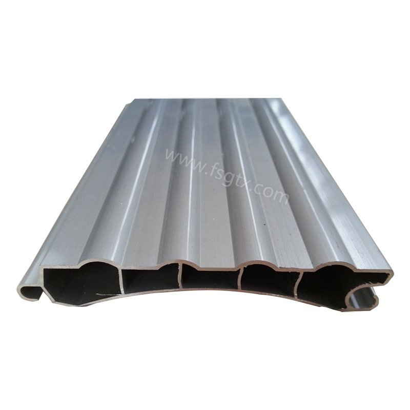 Why High quality material 6063 roller gate aluminum alloy profile