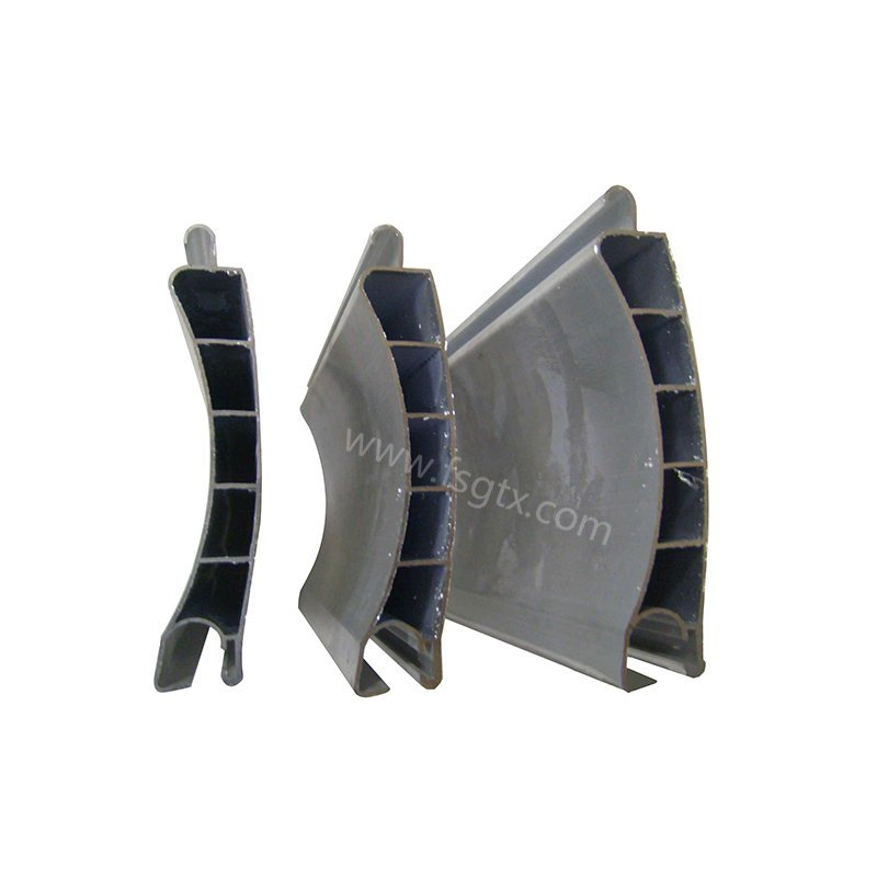 High quality material 6063 roller gate aluminum alloy profile