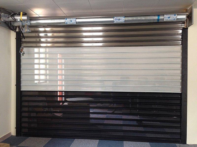 TAIXING ALUMINUM Brand telescopic vehicle roller custom aluminium doors