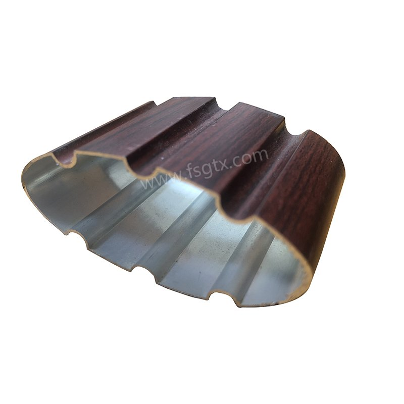 Material 6063 telescopic gate aluminum alloy profile for sale