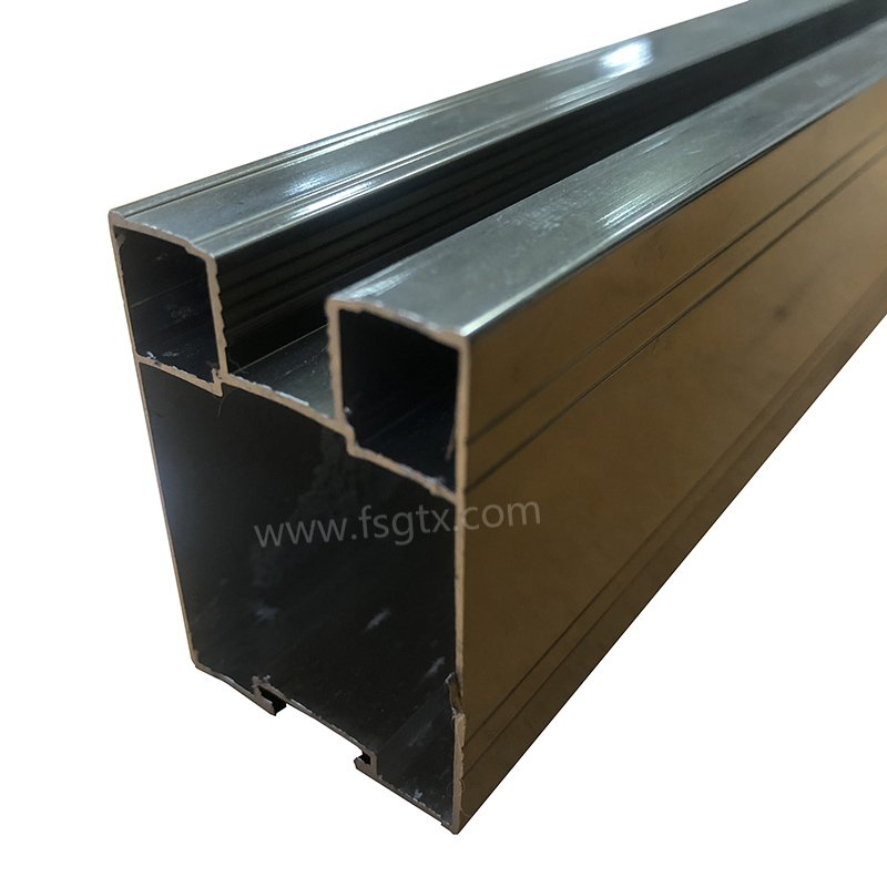 Material 6063 telescopic gate aluminum alloy profile for sale
