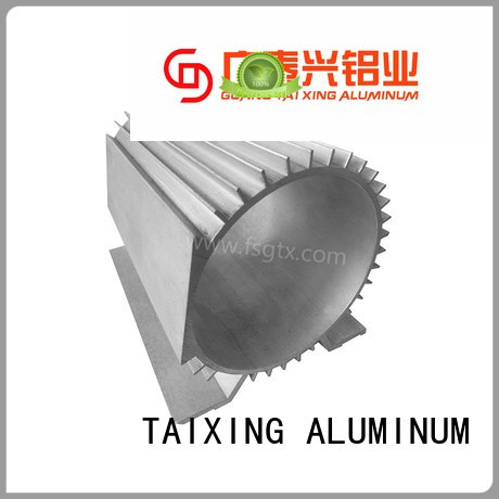 product radiator motor aluminum radiators with electric fans TAIXING ALUMINUM Brand