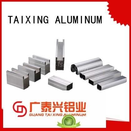 alloy brake 6063 TAIXING ALUMINUM Brand aluminium doors factory