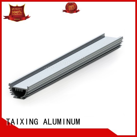 aluminum 6063 radiator TAIXING ALUMINUM Brand aluminum radiators with electric fans manufacture