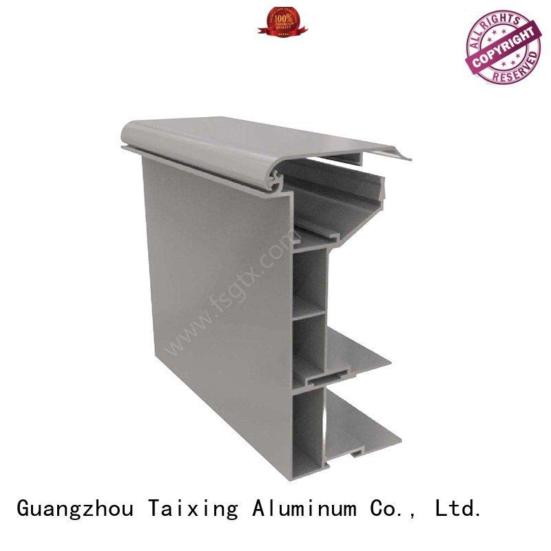 TAIXING ALUMINUM Brand box profiles material led lightbox aluminium profile