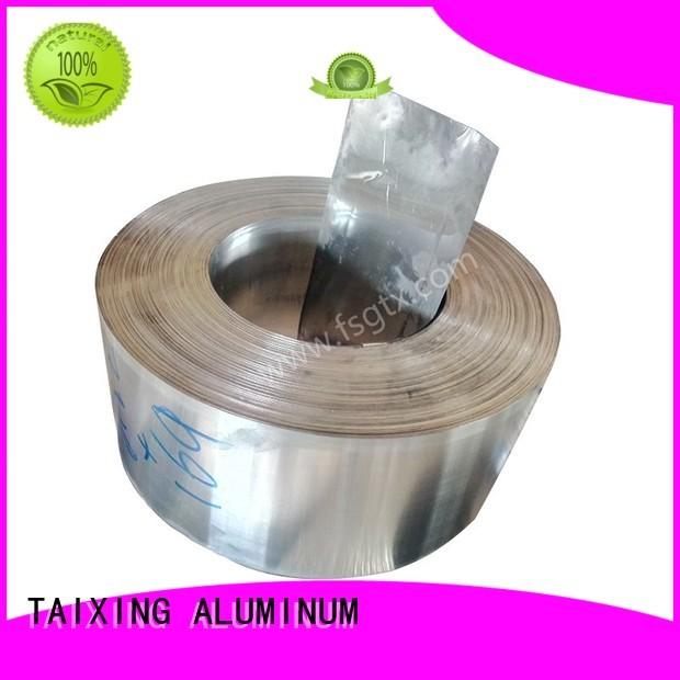 strip tape decorative OEM aluminum coil stock TAIXING ALUMINUM