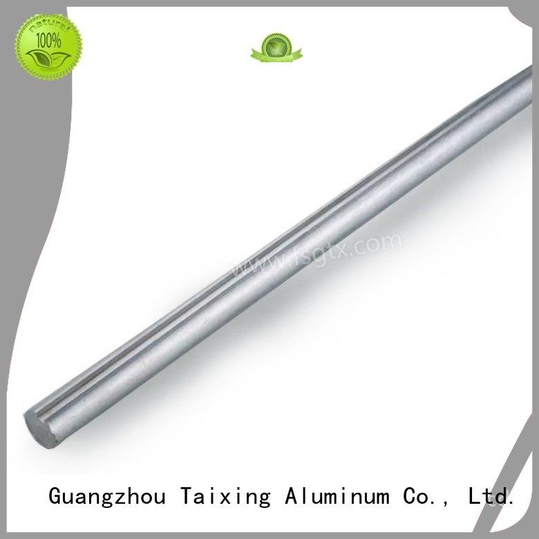 Custom 6063 triangle aluminum tube 6061 TAIXING ALUMINUM
