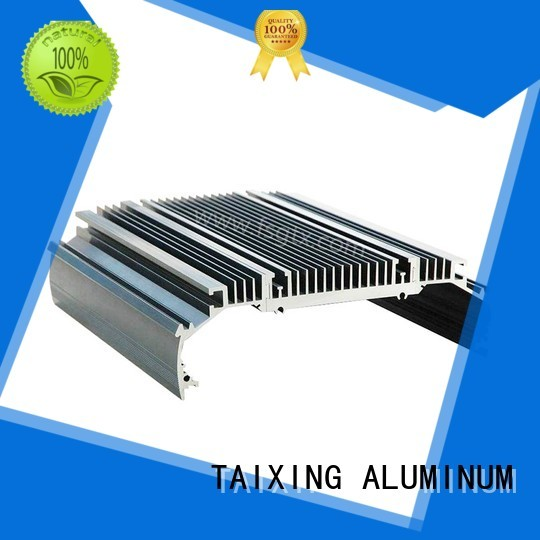 profile shell material product aluminum radiators with electric fans TAIXING ALUMINUM Brand