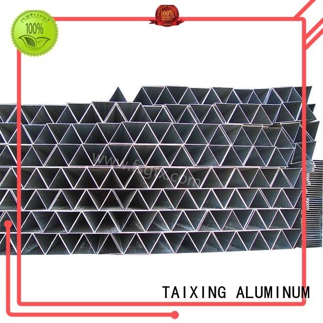 TAIXING ALUMINUM Brand frame prism triangle aluminum tube manufacture