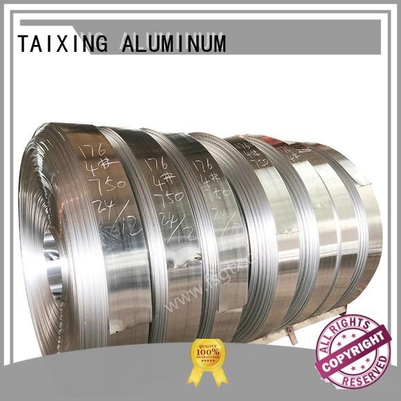 tape high aluminum coil stock TAIXING ALUMINUM Brand