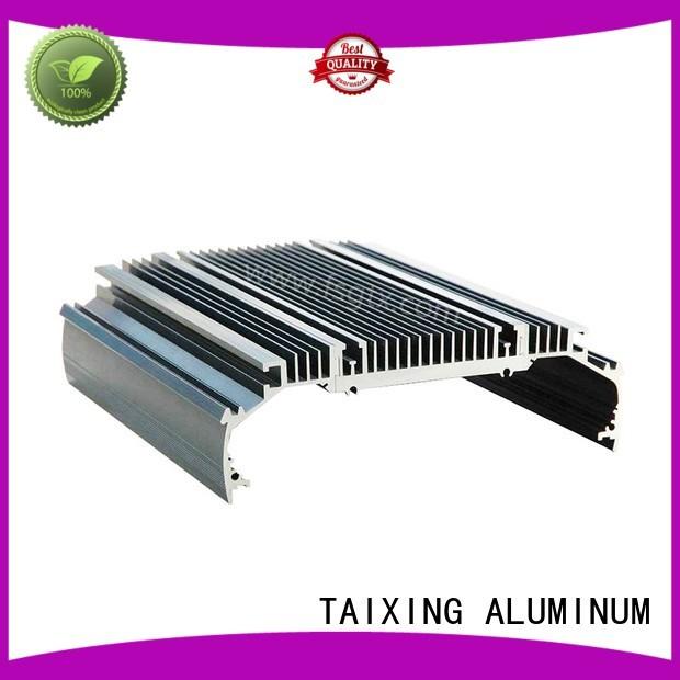 material designs power aluminum radiators radiator TAIXING ALUMINUM