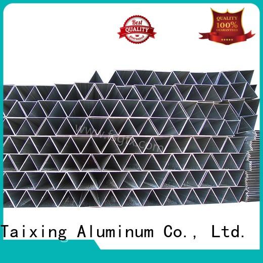 precision 6061 triangle aluminum tube best TAIXING ALUMINUM