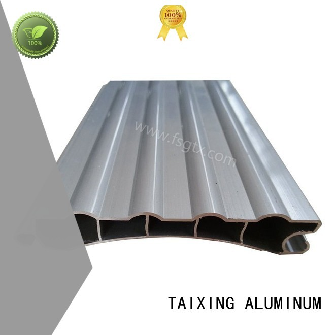 telescopic 6063 roller TAIXING ALUMINUM Brand aluminium profile door supplier